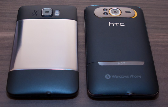 HTC HD2 vs HTC HD7