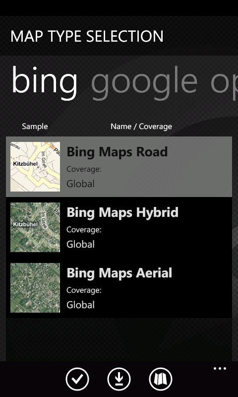 Outdoor Navigation pro WP7