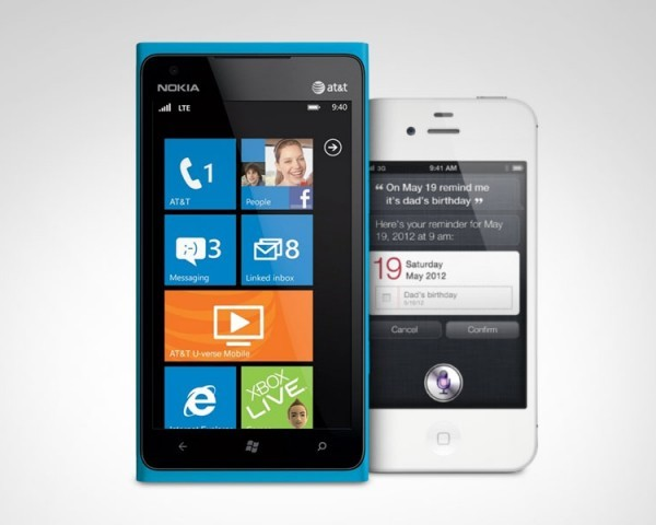 Nokia Lumia 900 vs iPhone 4S