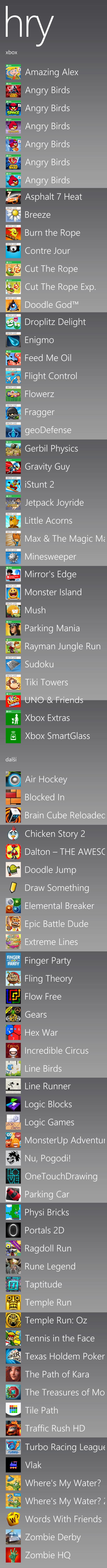 Moje WP8 hry