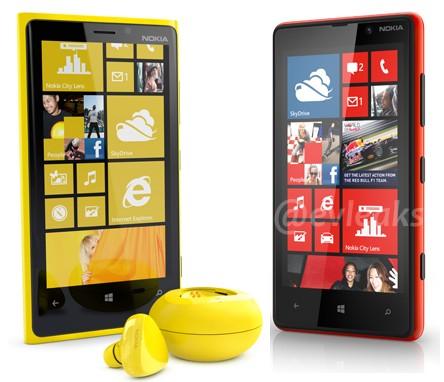 Lumia 820 a 920