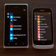 Nokia Lumia 610 vs Lumia 900