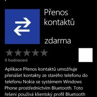 Windows Phone 7.5 screenshoty