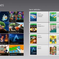 Herní / Xbox portál ve Windows 8